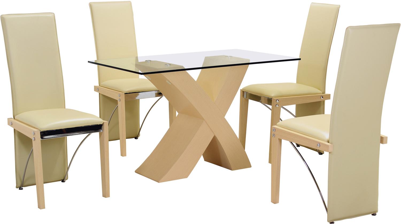 Arizona Beech Small Dining Table. Brand: Heartlands Furniture