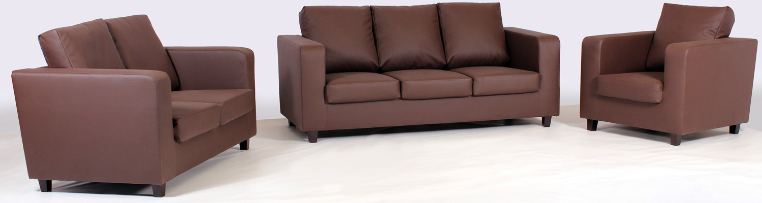 Brooklyn Pu Sofa Suites