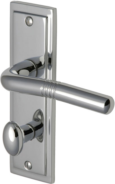 Ripon Lever On Backplate Door Handle Clearance