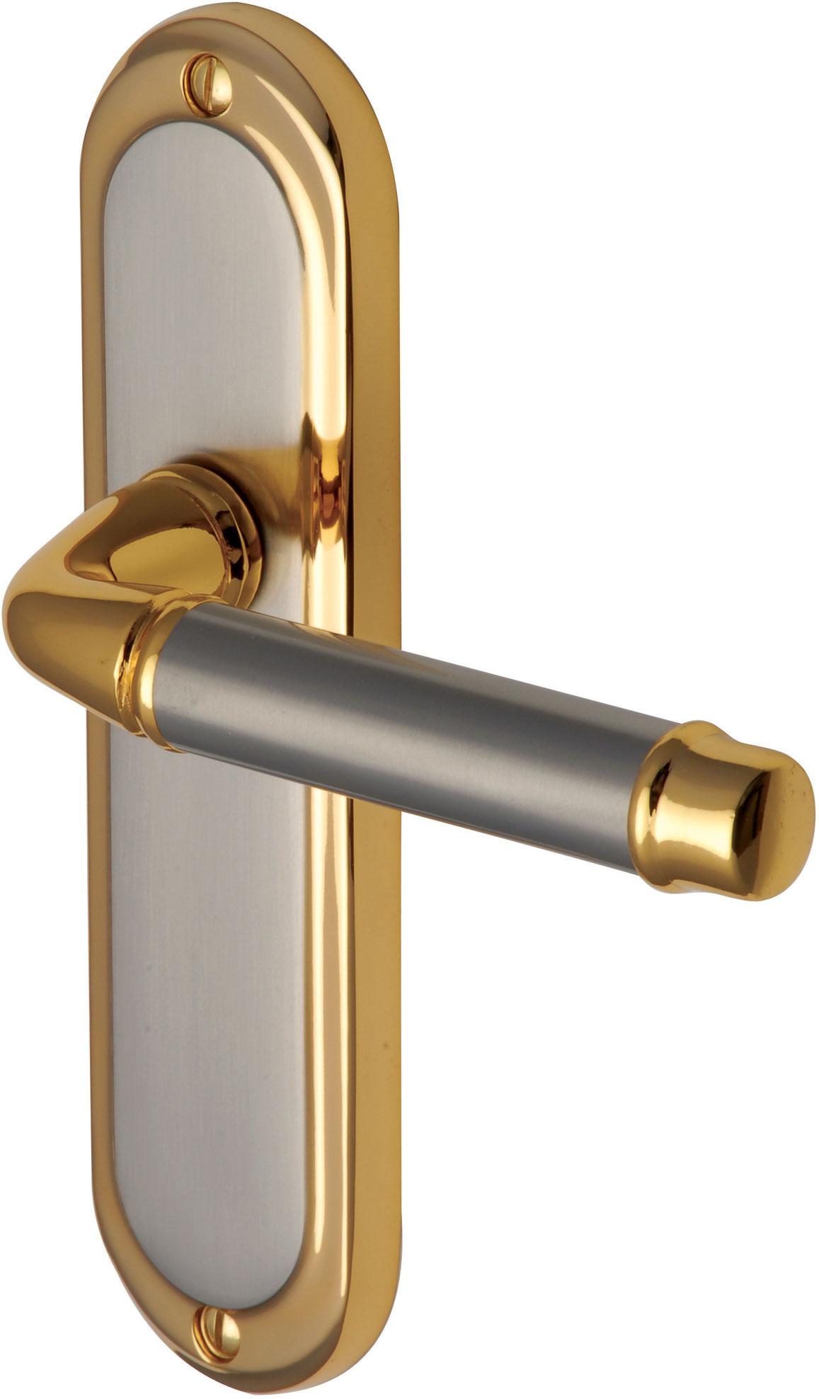 how to clean brass plated door handles