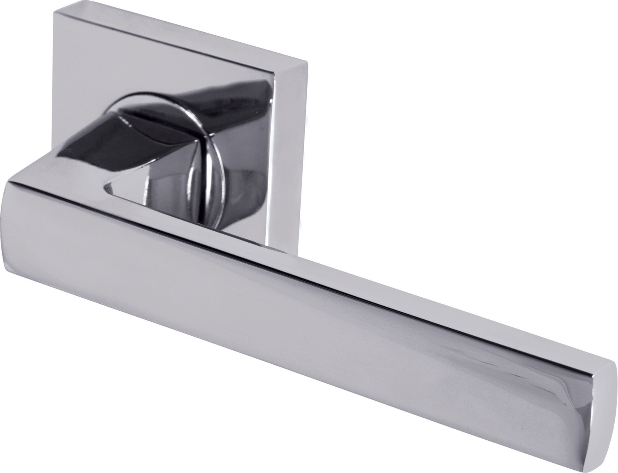 Axis Lever On Square Rose Door Handle