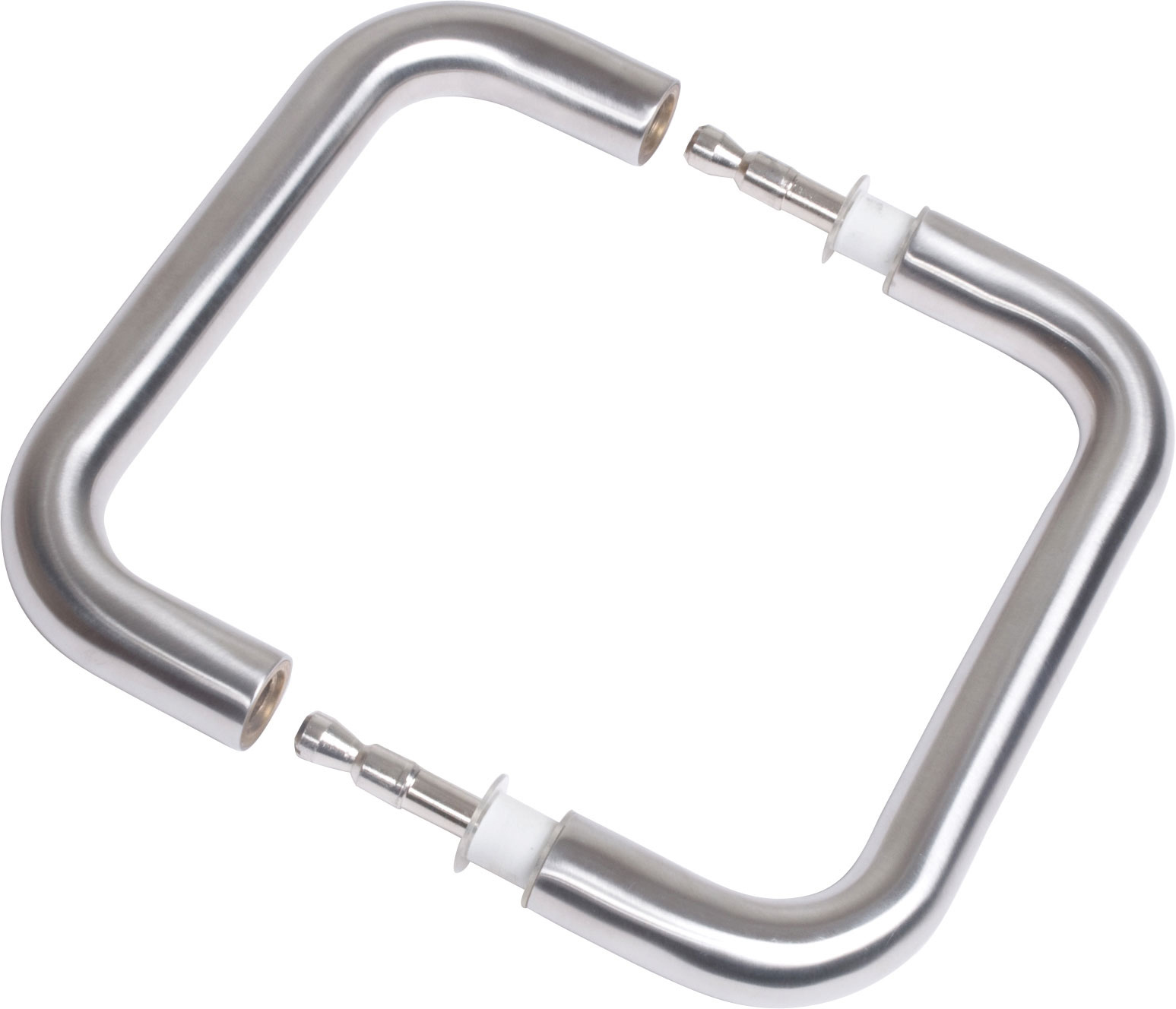 Beau Stainless Steel Back To Back Fixing Handles
