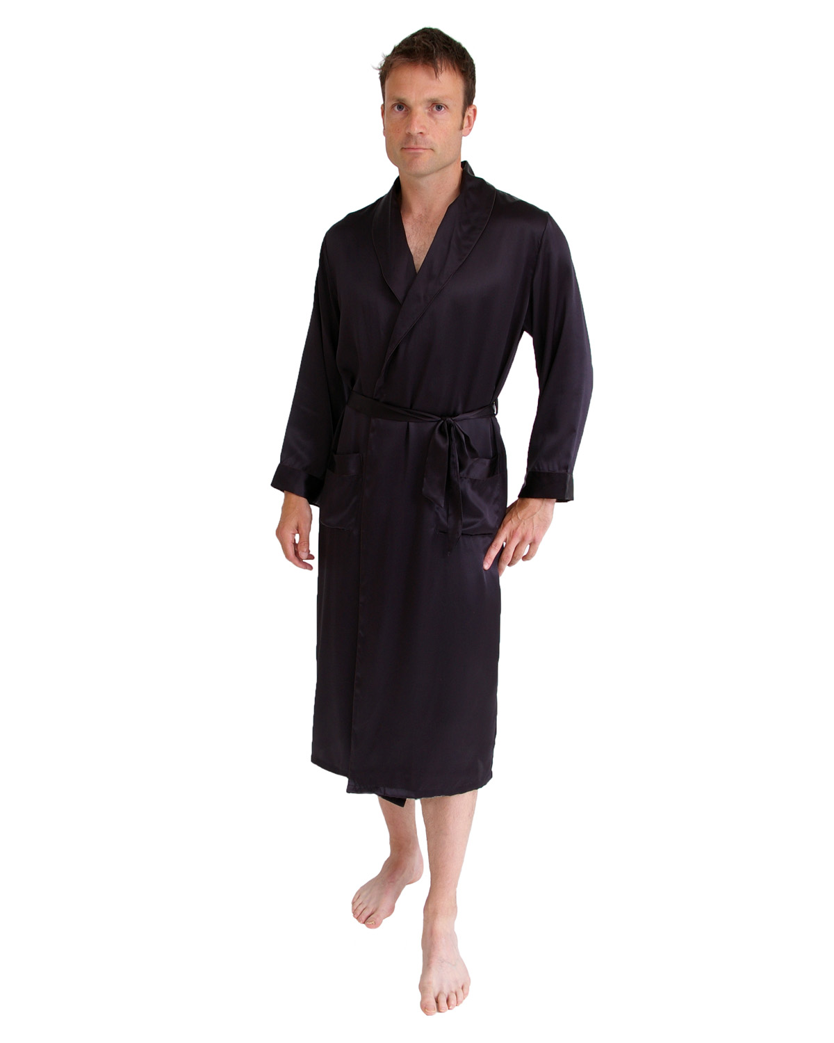 Long silk dressing gown - Clothing and Accessories - Clothing - Mens ...