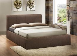 Amazing 120Cm Stylish Small Double Size Brooklyn Ottoman Fabric Bed Theyellowbook Wood Chair Design Ideas Theyellowbookinfo