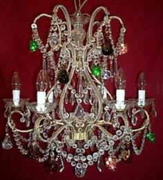 18th Century Elegant 6 Light Neoclassical Chandelier
