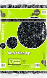Bulk Bag Black Chippings