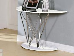 Uplands High Gloss White Console Table