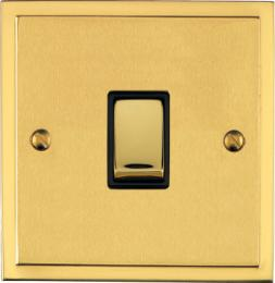 Elite Stepped Plate Satin Brass Dual Finish Collection