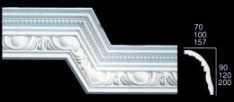 Large Egg & Dart With Bead Cornice