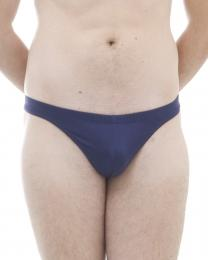 Silk thong brief