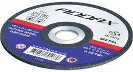 ADDAX Resin Bonded Cutting and Grinding Discs